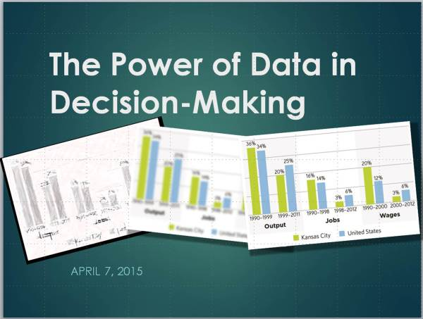 Power of Data Slide